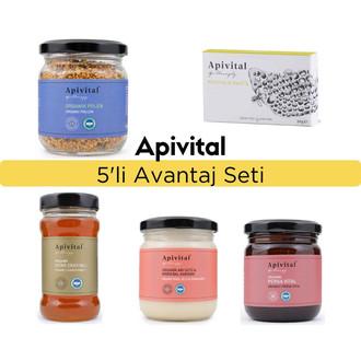 Apivital - Apivital Organik 5'li Set