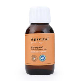 Apivital - Apivital Organik Sıvı Perga (alkolsüz) (50 ml.)