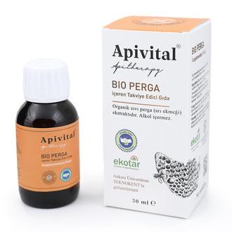 Apivital - Apivital Organik Sıvı Perga (alkolsüz) (50 ml.) (1)