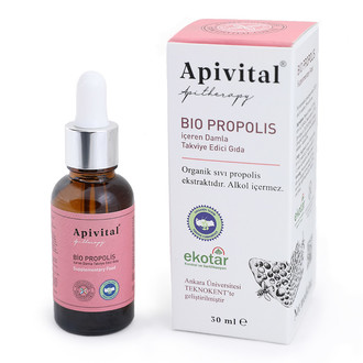 Apivital - Apivital Organik Propolis (Alkolsüz) (30 ml.) (1)