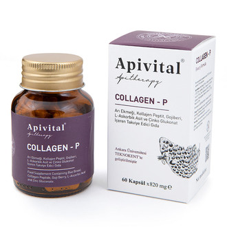Apivital - Collagen - P (60 adet) (1)